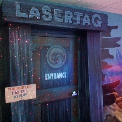 Laser Tag at Flippers Arcade
