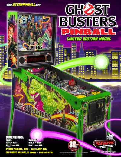 Stern Pinball Ghostbusters