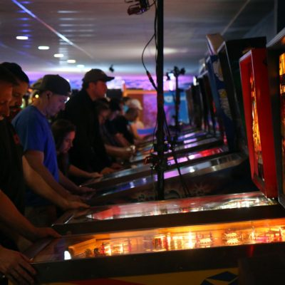 Pinball Tournament at Flippers Arcade