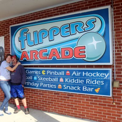 Flippers Arcade in Grandy, North Carolina