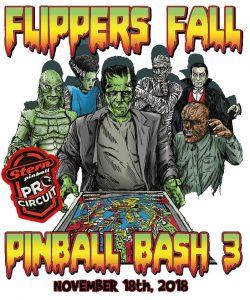Flippers pinball Bash 3 2018