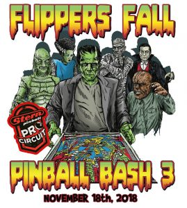 Flippers pinball Bash 3 2018