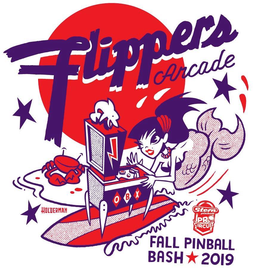 Flippers Mermaid Fall Pinball Bash